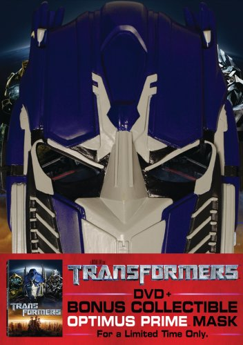 Transformers (2007/ Bring Home A Hero Promo/ Optimus Prime Mask) DVD Image