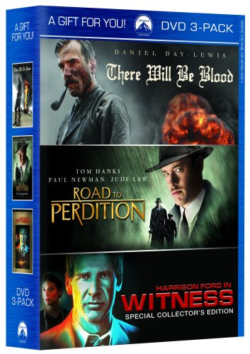 There Will Be Blood / Road To Perdition / Witness (1985) DVD Image