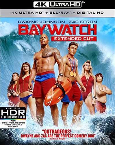 Baywatch (4K UHD, Blu-ray, Digital HD) DVD Image