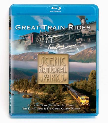 Scenic National Parks: Great Train Rides (Blu-ray) DVD Image