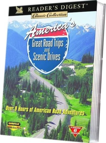 America's Great Road Trips And Senic Drives (6-Disc Set/ Slim-Pack) DVD Image