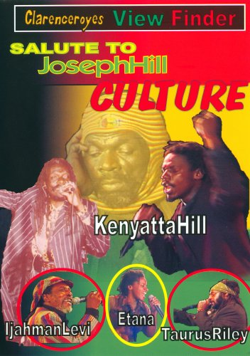 Salute To Joseph Hill Culture DVD Image