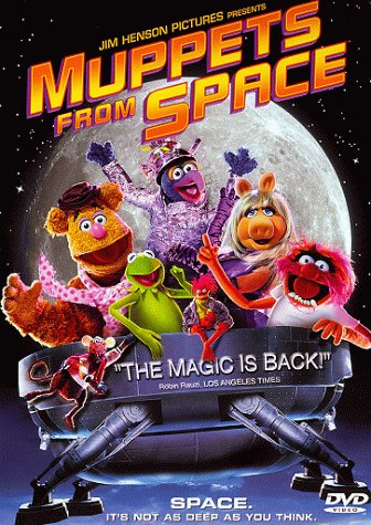 Muppets From Space DVD Image
