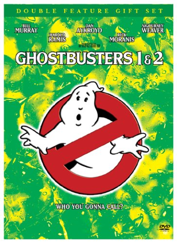 Ghostbusters (Special Edition/ Old Version) / Ghostbusters 2 (2-Disc Set w/Scrapbook) DVD Image