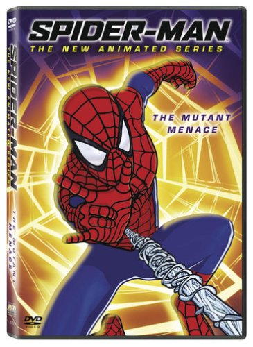 Spider-Man: The New Animated Series #1: The Mutant Menace DVD Image