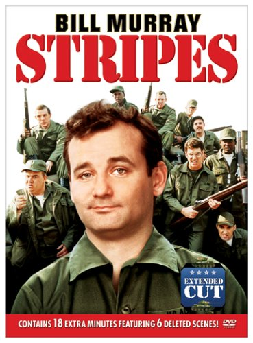 Stripes (Extended Cut) DVD Image