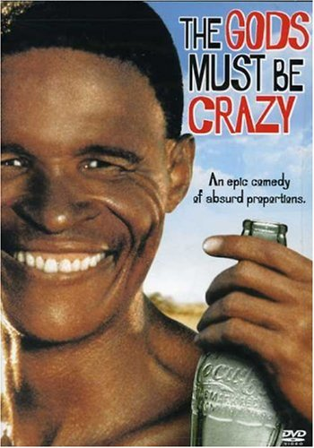Gods Must Be Crazy DVD Image