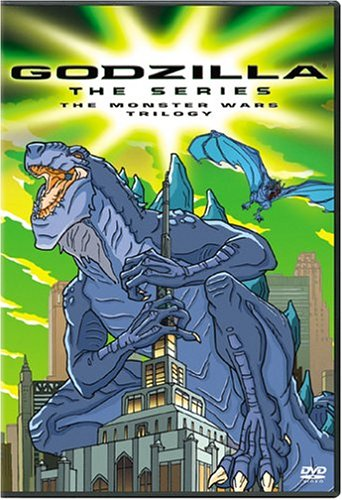Godzilla: The Animated Series: Monster Wars Trilogy DVD Image