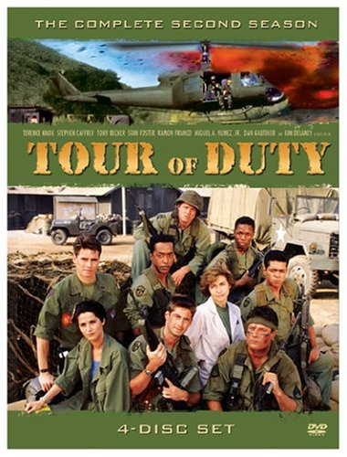 Tour Of Duty: The 2nd Season DVD Image