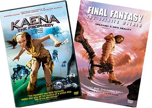 Kaena: The Prophecy / Final Fantasy: The Spirits Within (1-Disc Special Edition) (2-Pack) DVD Image