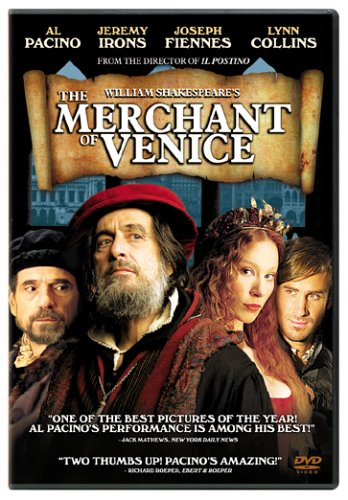 William Shakespeare's The Merchant of Venice DVD Image