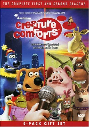 Creature Comforts: The Complete 1st & 2nd Season DVD Image