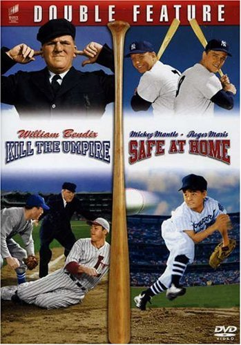 Baseball Double Feature: Kill The Umpire / Safe At Home! DVD Image