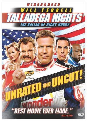 Talladega Nights: The Ballad Of Ricky Bobby (Widescreen/ Unrated Version) DVD Image