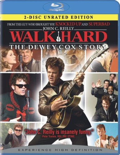 Walk Hard: The Dewey Cox Story (Unrated Version/ Special Edition/ 2-Disc/ Blu-ray) DVD Image
