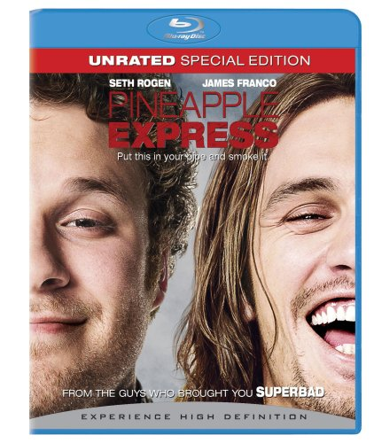 Pinapple Express (Unrated Version/ Blu-ray) DVD Image