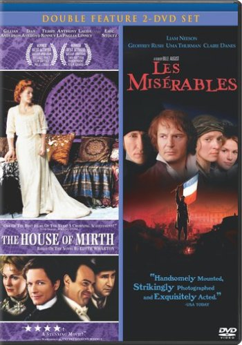 House Of Mirth / Les Miserables (1998) DVD Image