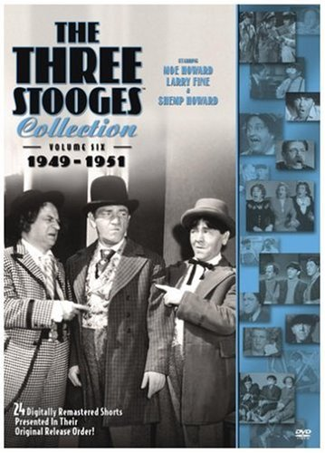 The Three Stooges Collection, Vol. 6: 1949-1951 DVD Image