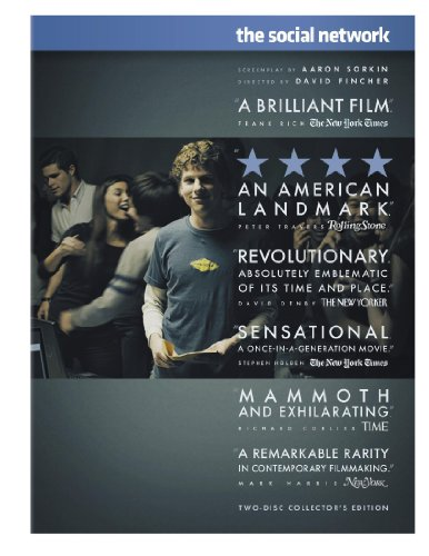 The Social Network (Two-Disc Collector's Edition) DVD Image