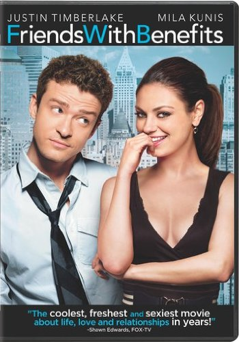 Friends with Benefits DVD Image