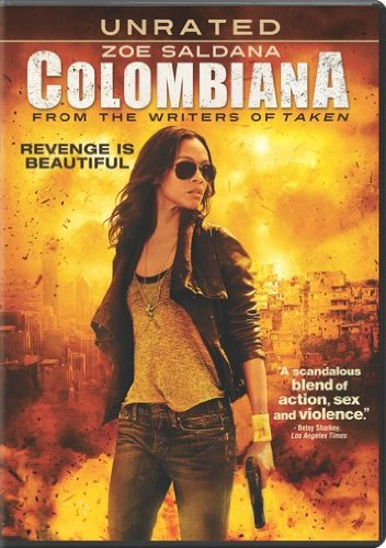 Colombiana DVD Image
