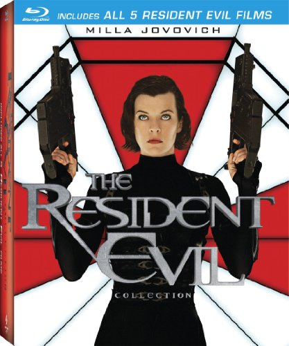 The Resident Evil Collection (Resident Evil / Resident Evil: Apocalypse / Resident Evil: Extinction / Resident Evil: Afterlife / Resident Evil: Retribution) [Blu-ray] DVD Image