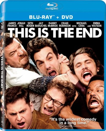 This Is The End (Two Disc Combo: Blu-ray / DVD + UltraViolet Digital Copy) DVD Image