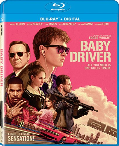 Baby Driver (Blu-ray + UltraViolet) DVD Image