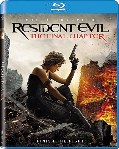 Resident Evil: The Final Chapter [Blu-ray] DVD Image