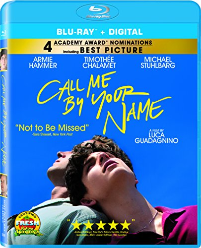 Call Me by Your Name [Blu-ray] DVD Image
