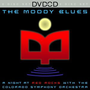 Moody Blues: A Night At Red Rocks With The Colorado Symphony Orchestra (DVD/CD Combo) DVD Image