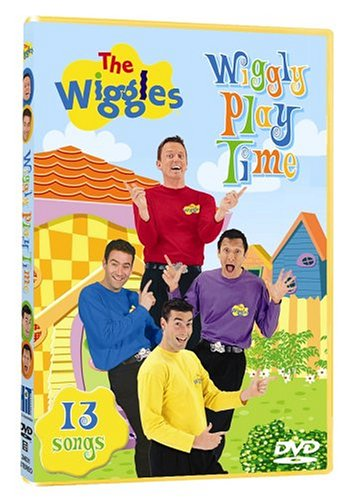 The Wiggles - Wiggly Play Time DVD Image