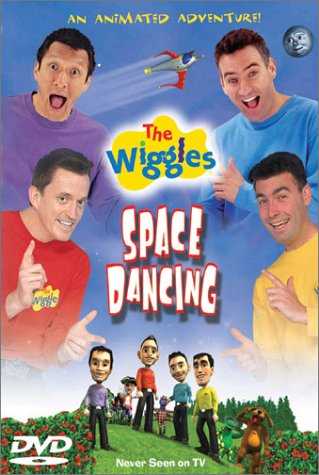 Wiggles: Space Dancing DVD Image