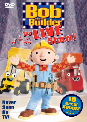 Bob The Builder: The Live Show! DVD Image