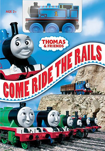 Thomas (The Tank Engine) & Friends: Come Ride The Rails (w/ Toy) DVD Image