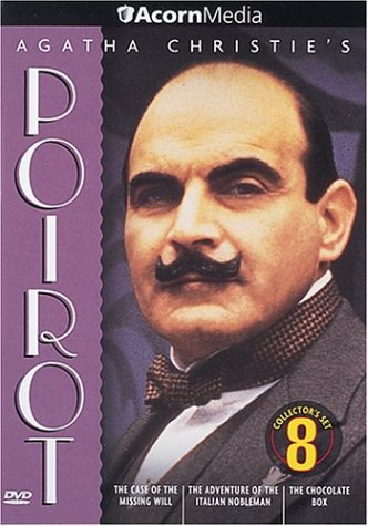 Agatha Christie's Poirot #08: The Case Of The Missing Will / The Adventure Of The Italian Nobleman / The Chocolate Box DVD Image