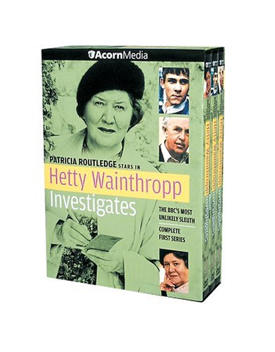 Hetty Wainthropp Investigates: Complete 1st Series DVD Image
