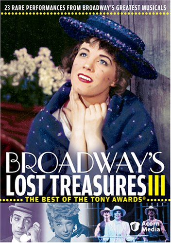 Broadway's Lost Treasures III: The Best Of The Tony Awards DVD Image