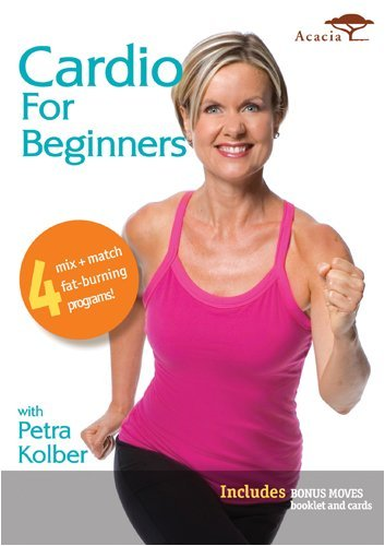 Cardio For Beginners With Petra Kolber DVD Image