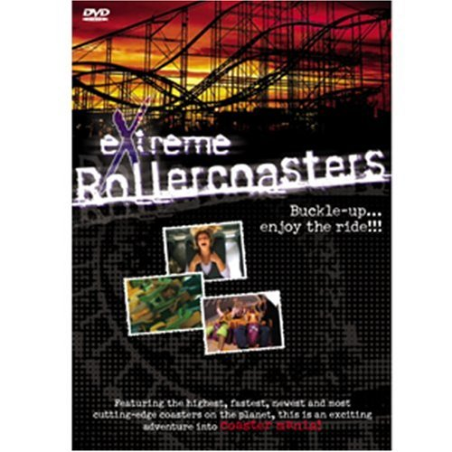 Extreme Rollercoasters DVD Image