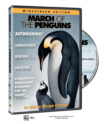 March of the Penguins DVD Image