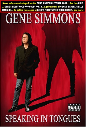Gene Simmons: Speaking In Tongues DVD Image