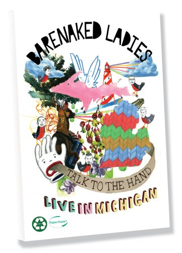 Barenaked Ladies: Talk To Hand: Live In Michigan DVD Image