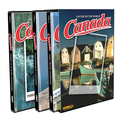 On Top Of The World: Canada (Gift Set): Parks & Scenic Wonders / Experience Canada / The Train Journey DVD Image