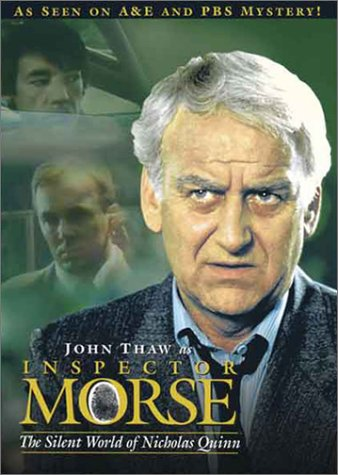 Inspector Morse: The Silent World Of Nicholas Quinn DVD Image