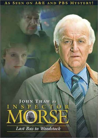Inspector Morse: Last Bus To Woodstock DVD Image