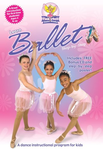 Learn Ballet Step-By-Step DVD Image