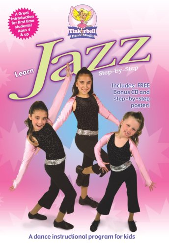 Learn Jazz Step-By-Step DVD Image