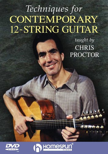 Techniques For Contemporary 12-String Guitar: Taught By Chris Proctor DVD Image