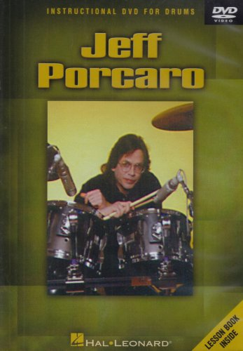Jeff Porcaro: Instructional DVD For Drums (w/ Book) DVD Image